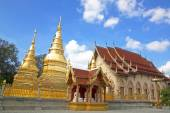 Wat Phra That five planets Buddhism. — Stockfoto