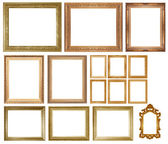 Old Antique gold frame — Stock Photo
