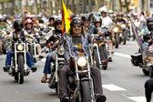 Harley-davidson motorcyklar — Stockfoto