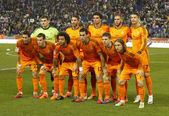 Real Madrid lineup — Stock Photo