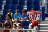 Basketball point — Stock Photo