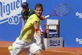 Slovakian tennis player Martin Klizan — Foto Stock
