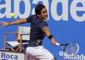 Spanish tennis player Nicolas Almagro — Stock Photo