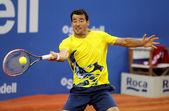 クロアチア語テニス選手イワン dodig — ストック写真