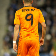 Back of Karim Benzema of Real Madrid — Stock Photo #59380369
