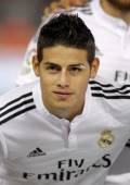 James Rodriguez of Real Madrid — Stock Photo