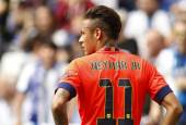 Neymar da Silva of FC Barcelona — Stock Photo