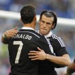 Постер, плакат: Cristiano Ronaldo and Gareth Bale of Real Madrid