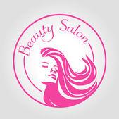 Icon beauty salon — Stock Vector