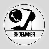 Icon Shoemaker — ストックベクタ