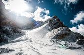 The slope of the mountain range — Stock Photo