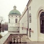 Castle in Krasiczyn — Stock Photo #64826083