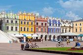 Zamosc centrum, Polen — Stockfoto