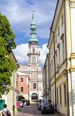 Zamosc city center, Poland — Stock Photo