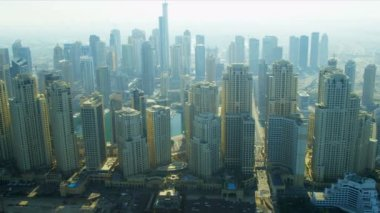 Jumeirah Beach Residence, Marina Beach — Stock Video