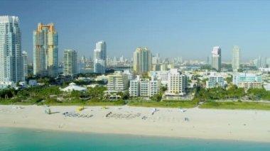 Condominiums South Pointe Park Miami Beach — Vídeo Stock