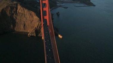 Golden Gate Bridge in San Francisco — Stock Video