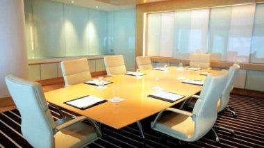Modern Office room at  Conference Center — Vidéo