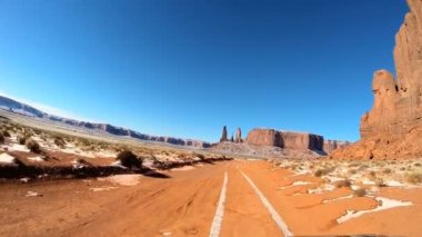 Colorado Plateau Monument Valley — Stock Video