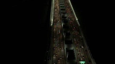 New Oakland Bay Bridge traffic — Stock Video