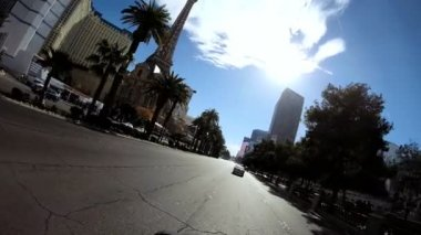 Drive Las Vegas Blvd — Stock Video