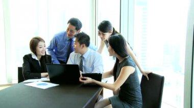 Zakelijke team in vergaderruimte — Stockvideo