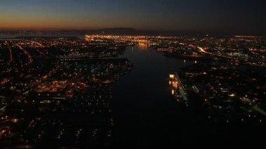 San Francisco Bay Fishermans Wharf — Stock Video