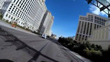 Vehicle driving Las Vegas — Stock Video