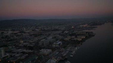 Port of Oakland in San Francisco — Vídeo de stock