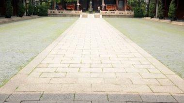 Ancient Temple of Confucius — Stock Video