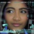 Asian Indian Female using Advanced Business Communication Motion — Stock Video #58465521