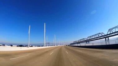 Driving New Bay Bridge — Stock Video