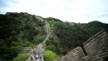 Watchtower Great Wall of China — Stock Video