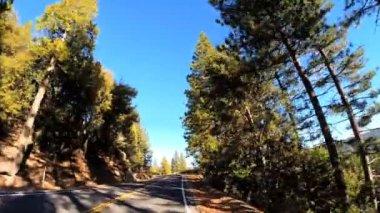 Road trip through Sonora Pass — ストックビデオ