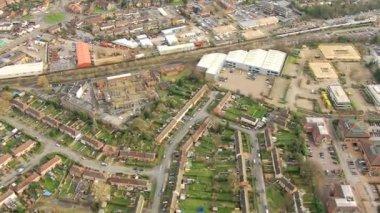 Towns rural communities, Southwest England, UK — Stock Video