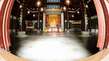 Alter place of City God Temple — Stock Video