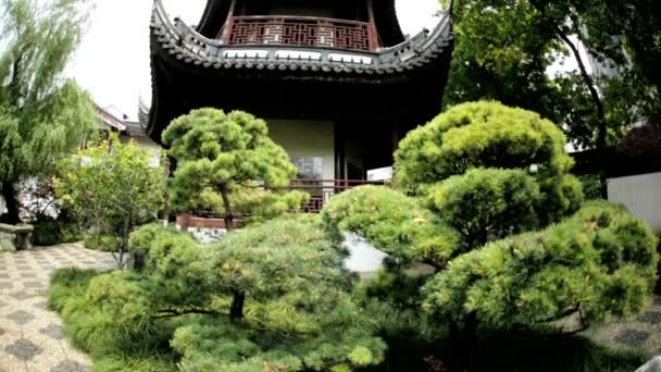 Templo de Confucio de Shanghai — Vídeo de stock