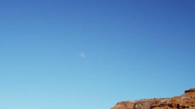 Monument Valley Colorado Plateau Navajo Tribal Park desert  Buttes — Stock Video
