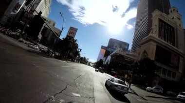 Road trip Las Vegas Blvd — Stock Video