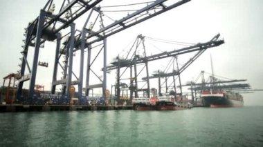 United Dockyard Shipping — Stock Video