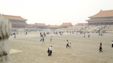Forbidden City Tiananmen Square — Stock Video