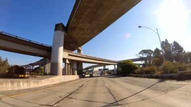 Road trip suburban San Francisco — Stock Video