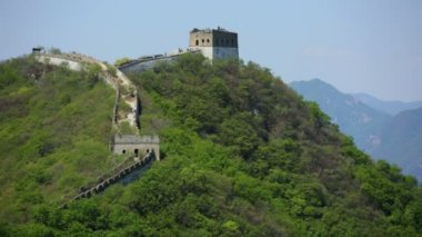 Watchtower Great Wall of China — Vídeo de stock