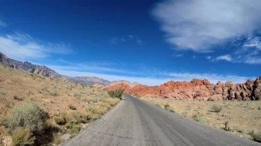 Trip through Red Rock Canyon — Stockvideo