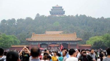 Forbidden City Tiananmen Square — Stock Video