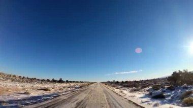 Bilsemester genom natursköna landskap — Stockvideo
