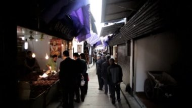 Water Village narrow streets Zhujiajiao — Stock Video