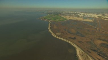 San Francisco Coastal Bay Sulphur Creek — Stock Video