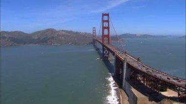 San Francisco California Golden Gate Bridge — Stock Video