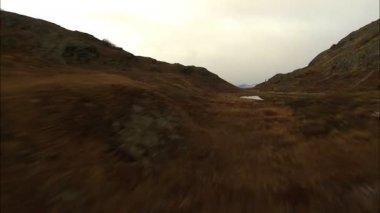 Aerial Alaska National Park Mountains — Stock Video